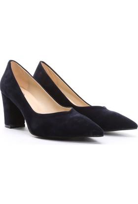 Limited Edition Bayan Stiletto Ayakkabı Lacivert