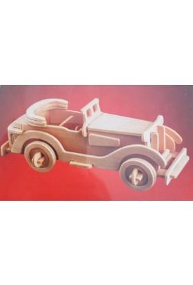 İdeal 3D Ahşap Maket Packard Twelve
