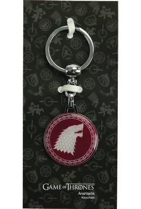 Game Of Thrones Kırmızı Anahtarlık Stark