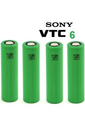 Sony Vtc6 18650 3.7V 3000 Mah Li-İon Şarjlı Pil 10'Lu