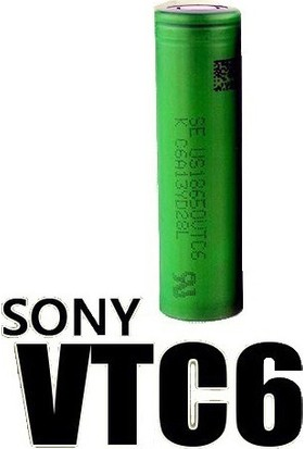 Sony Vtc6 18650 3.7V 3000 Mah Li-İon Şarjlı Pil 20'Li
