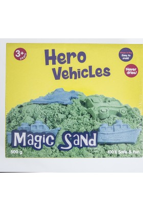 Soobe Magic Sand / Hero Vehicles Oyun Kumu
