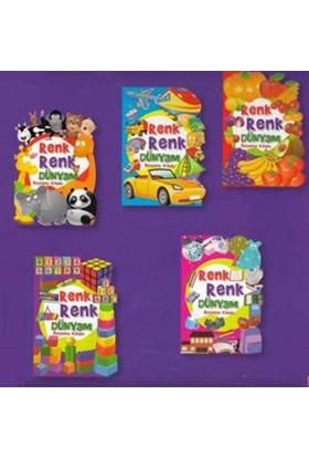 Renk Renk Dünyam Boyama Kitabı (5 Kitap)
