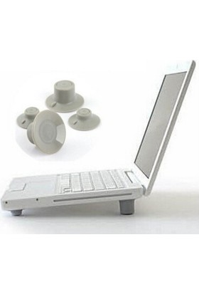Wildlebend Laptop Soğutucu Ve Yükseltici Vantuz Ayaklar