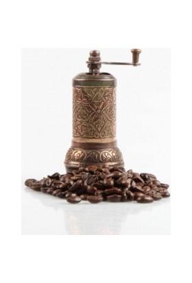 Wildlebend Osmanlı Motifli Kahve ve Baharat Değirmeni Gümüş