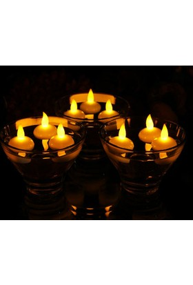 Wildlebend Suda Yüzen Led Tealight Mum