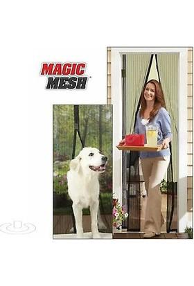 Wildlebend Mıknatıslı Kapı Sinekliği Magic Mesh - Kahverengi