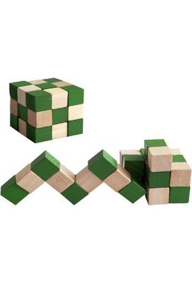 Wildlebend Yılan Küp Ahşap Puzzle