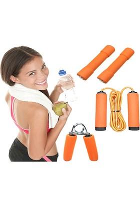 Wildlebend Aile Fitness Seti (4 Parça) - Vücut Geliştirme Spor Seti