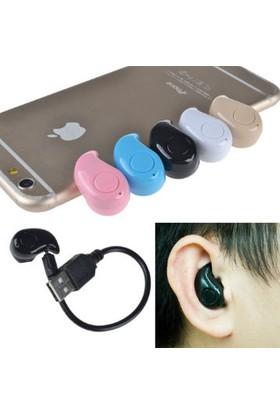 Wildlebend Kulak içi Mini Bluetooth Kulaklık - Pembe