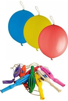 Wildlebend Lastikli Punc Balon - 10 Adet
