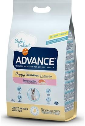 Advance Puppy Sensitive Somonlu Yavru Köpek Maması 3 Kg