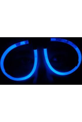 Wildlebend Mavi Glow Stick Işıklı Gözlük