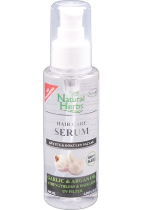 Natural Herbs Sarımsaklı Arganlı Saç Serumu 100 ML