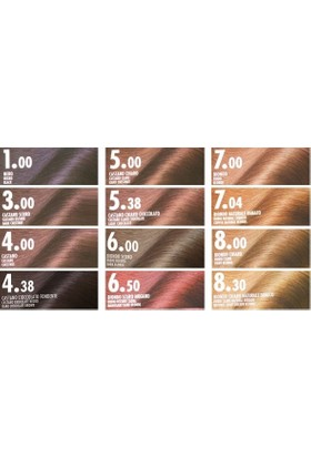 Biopoint Orovivo Elisir Colore Saç Boyası 6.50 Mahogany Dark Blonde - Akaju Kızıl