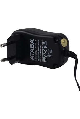 Ataba At-2091 9V 1000 Mah Switch Mode Adaptör Çift Jacklı