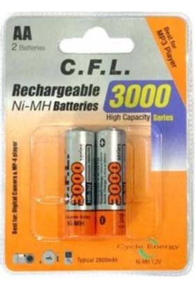 Cfl 1.2V 3000 Series 2800 Mah Aa 2Li Blister