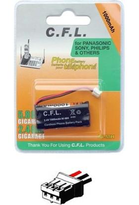 Cfl 2.4V 1100 Mah 3 Kablolu Telsiz Telefon Pili
