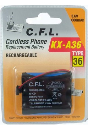 Cfl 3.6V 600 Mah 3Lü Kalem Telsiz Telefon Pili