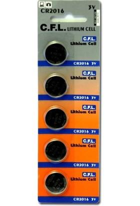 Cfl Cr2016 3V Lithium Pil 5Li Blister