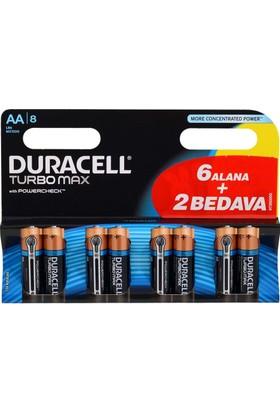 Duracell 6+2 Aa Size Kalem Pil