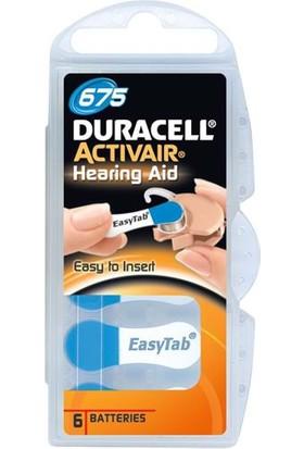 Duracell Activair 675 Kulaklık Pili 6Lı Blister