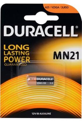 Duracell Mn21, A23, 23A Kumanda Pili Tekli Blister