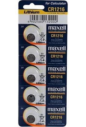 Maxell Cr1216 Pil 5Li Blister