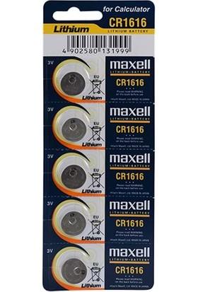 Maxell Cr1616 Pil 5Li Blister
