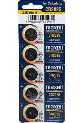 Maxell Cr2025 Pil 5Li Blister