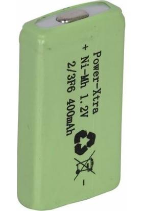Power-Xtra 1.2V 2/3F6 400 Mah Ni-Mh Ciklet Pil