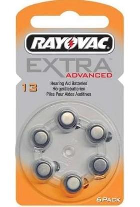 Rayovac Extra 13 Numara Kulaklık Pili 6Lı