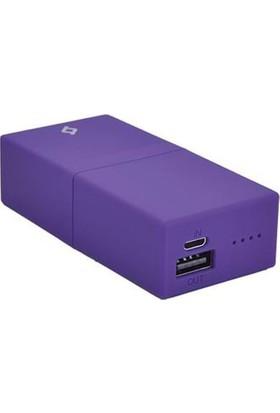 Ttec Powerbar Taşınabilir Şarj Cihazı 5000 Mah 2Bb114Mr Mor