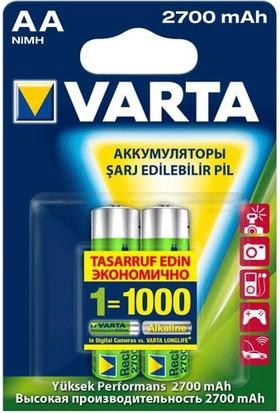 Varta 5706301402 Professional Accu Kalem Aa 2700 Mah Pil 2Li