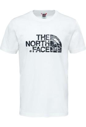 The North Face M S/S Woodcut Dome Tee Erkek T-Shirt