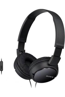 Sony MDR-ZX110APB Siyah Kulaküstü Mikrofonlu Kulaklık