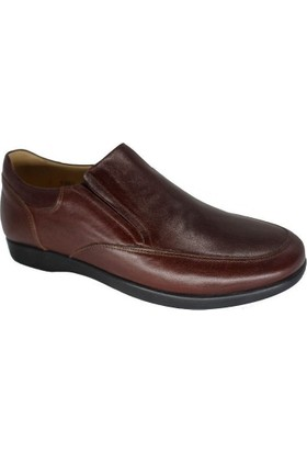 King Paolo A6361 Erkek Deri Diyabet Günlük Ayakkabı