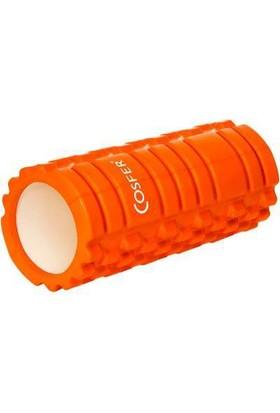 Cosfer CSF56-T Hollow Foam Roller Turuncu