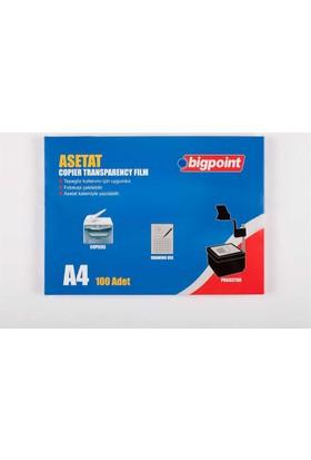 Bigpoint Fotokopi Asetatı A4 100 Micron