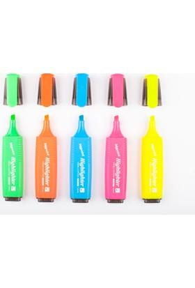 Bigpoint 910 Fosforlu Kalem Sarı 2-5Mm