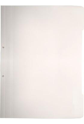 Bigpoint Plastik Telli Dosya Beyaz 50'Li Paket