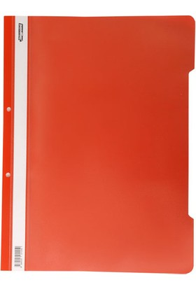 Bigpoint Plastik Telli Dosya Kırmızı 50'Li Paket