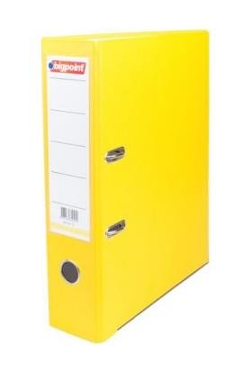 Bigpoint Plastik Klasör Geniş Sarı A4