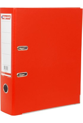 Bigpoint Plastik Klasör Geniş Kırmızı A4