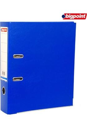 Bigpoint Plastik Klasör Geniş Mavi A4
