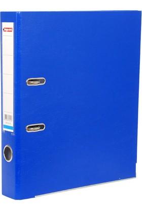 Bigpoint Plastik Klasör Dar Mavi A4