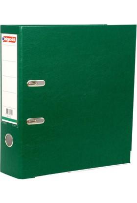 Bigpoint Plastik Klasör Geniş Yeşil A4
