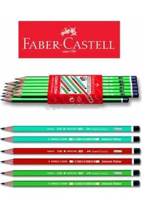 Faber Castel Mercanlı Kurşun Kalem 12'Adet