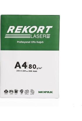 Mopak Rekort 80Gr A4 Fotokopi Kağıdı (1 Koli 5 Top)