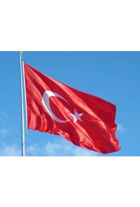 Türkiye Yükselen Bayrak 80X120